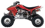 Monster Series Graphic Kit Honda TRX450R 04-07