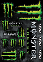 Monster Sticker Sheet 2