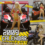 2009 ATV or sideXside calendars