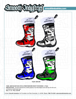 Limited Edition Alpinestars 4pack Mini Boot Stocking Ornaments
