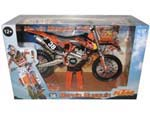 2012 Red Bull KTM 250 SX-F Marvin Musquin 38 Dirt Motorcycle Model 1-12