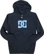 DC Shoes Mens Star Sweatshirt Navy