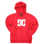 DC Shoes Boys Star Sweatshirt Red