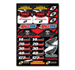 Torco Racing Fuels Sticker Kit 2008