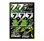 James Stewart Sticker Kit