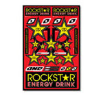 Rockstar Energy Sticker Kit