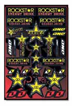 Rockstar Energy Makita Suzuki sticker kit 2009
