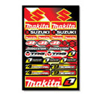 Makita Suzuki Sticker Kit 3