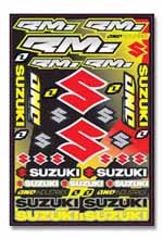 Suzuki sticker kit 2009
