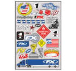 Factory Effex sponsor stickers 2
