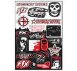Factory Effex sponsor stickers 1