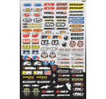 Factory Effex Micro Sponsor Sticker Kit 10-68014