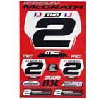 Jeremy McGrath Sticker Kit