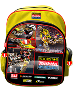 Rockstar Makita Suzuki Backpack