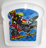 MX Superstars Sandwich Container