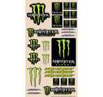 Monster Energy Pro Circuit Logo Sheet