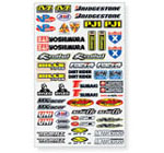 N Style Motocross Industry Stickers Small 3