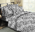 No Fear Graffiti Motocross  Bedding King