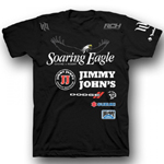 Universal Soaring Eagle Jimmy Johns Suzuki Factory Racing t-Shirt