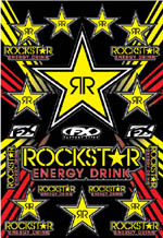 Rockstar Energy Sticker Sheet