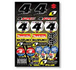 Ricky Carmichael Sticker Kit 1