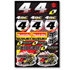 Ricky Carmichael Sticker Kit 2