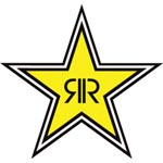 Rockstar Energy Drink Sticker - Star Logo