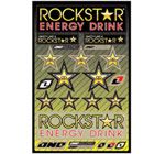 Rockstar Suzuki Sticker Sheet