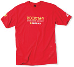 Rockstar Suzuki T-shirt Red