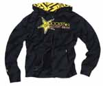 Rockstar Energy Thunderstruck Zip Hooded Sweatshirt