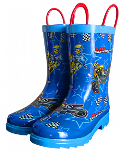 MX Superstars Youth Rain Boots