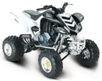 Yamaha Raptor 660R White 1.12 Scale