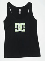 DC Shoes Womens Checker Star Tank