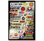 Motocross Industry Sticker Kit 2