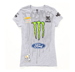Womens Ken Block Ford Monster Drip Tee