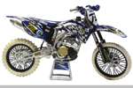Stefan Everts Diecast Motocross Bike (white tires)