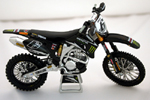 Joshua Coppins Diecast Motocross Bike