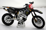 David Philappaerts Diecast Motocross Bike