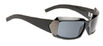 HSX Black Gunmetal Temples Grey