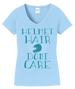 Helmet  Hair Tee